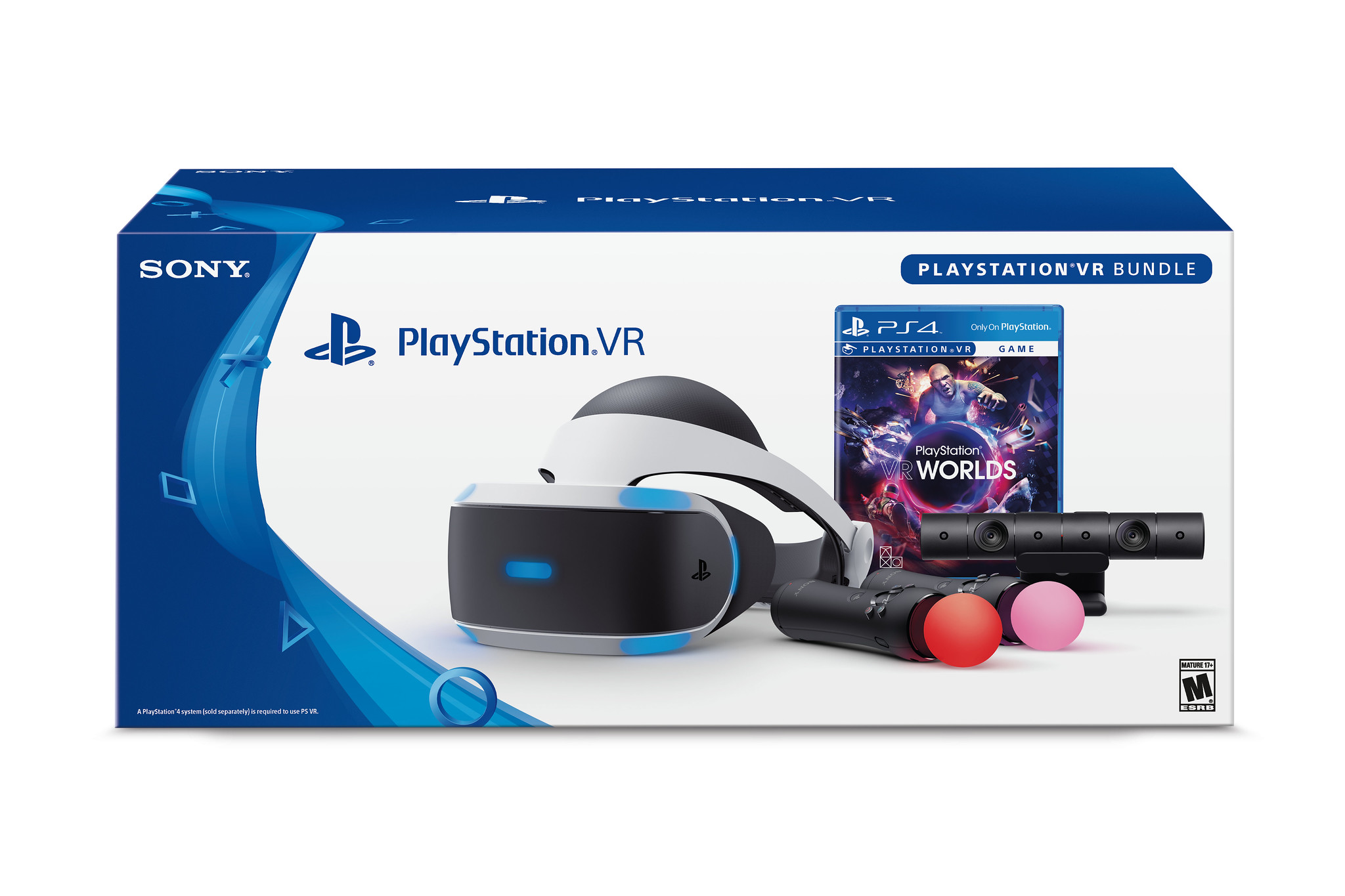 PlayStation VR PS VR Worlds Bundle