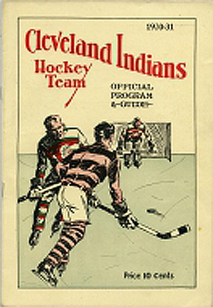 Cleveland Indians 1930-31 program