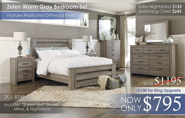 Zelen Bedroom Set B248-31-36-46-67-64-98-92