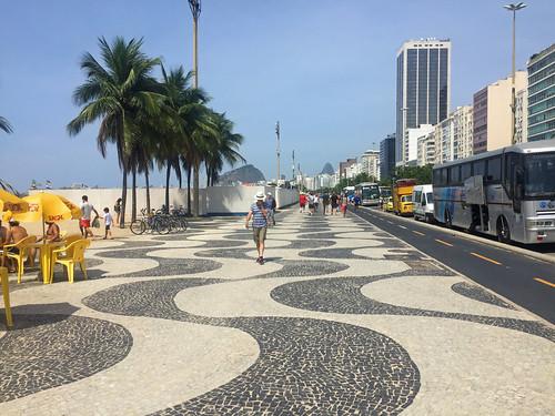Avenida Atlantica Mosaico