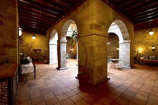 Claustro del convento.
