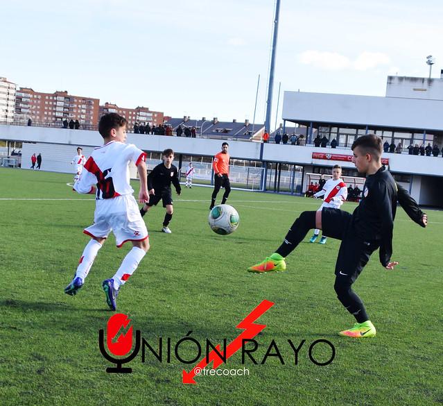 Infantil B 2-6 Atlético de Madrid