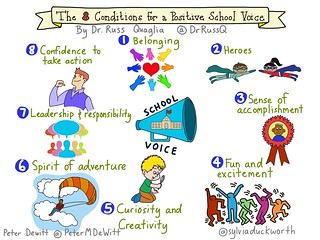 The 8 Conditions for a Positive School Voice | by sylviaduckworth