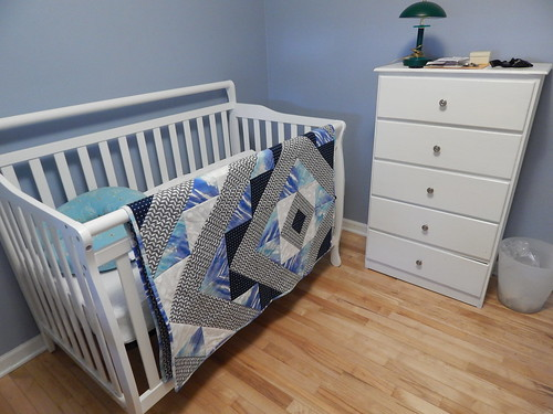 Baby Boy Crib Quilt