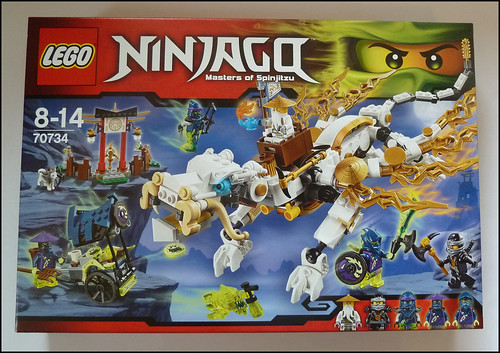 Afficher le sujet review ninjago 70734 le dragon de ma tre wu - Ninjago dragon d or ...