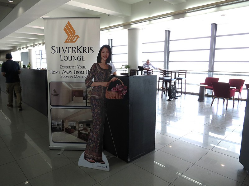 Before: Singapore Airlines Lounge