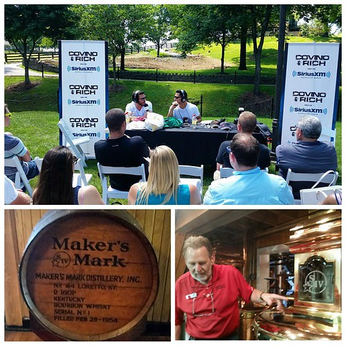 Doing it live from the beautiful grounds of @makersmark in Loretto, KY as the #CRroadtrip continues #TheShow