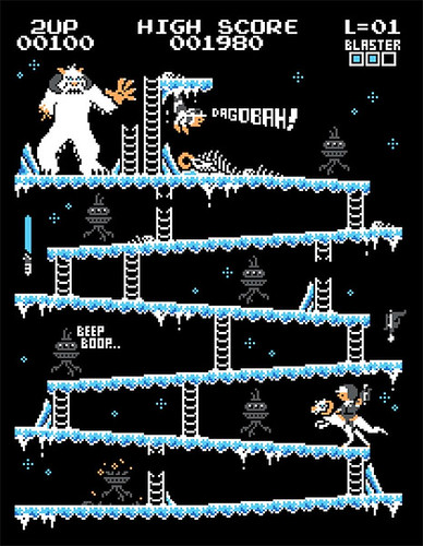 Donkey Kong mash-ups by BazNet - Star Wars The Empire Strikes Back