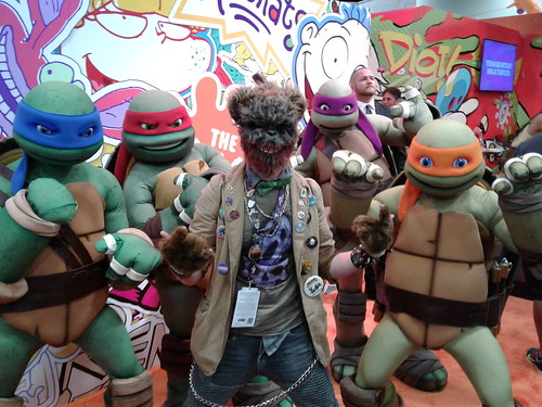 SDCC 2016 :: FEAR BEAR & TMNT