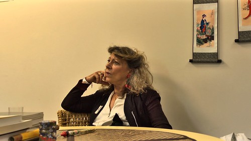 Prendre langues réalisé par Mathieu Tuffreau, Barbara Cassin par Cyril Cante