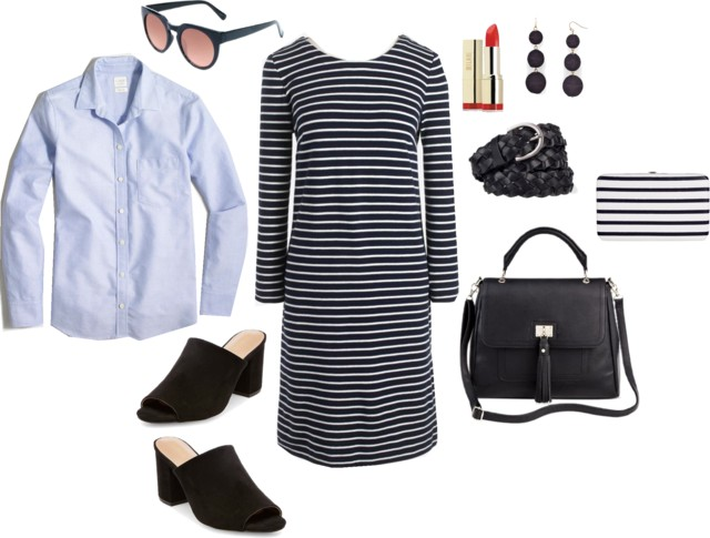 What I Wish I Wore, Vol. 170 - Classic Clothes, Trendy Accessories | Style On Target blog