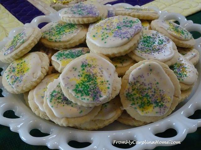 Mardi Gras Vanilla Sugar Cookies 4