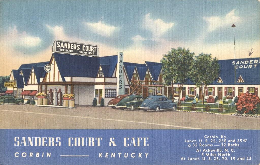 Sanders Court & Cafe - Corbin, Kentucky & Asheville, North Carolina