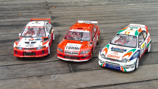 tamiya - [PHOTOS] Japanese rally cars from the 90s, Tamiya-style 32945969942_e717f72435_z