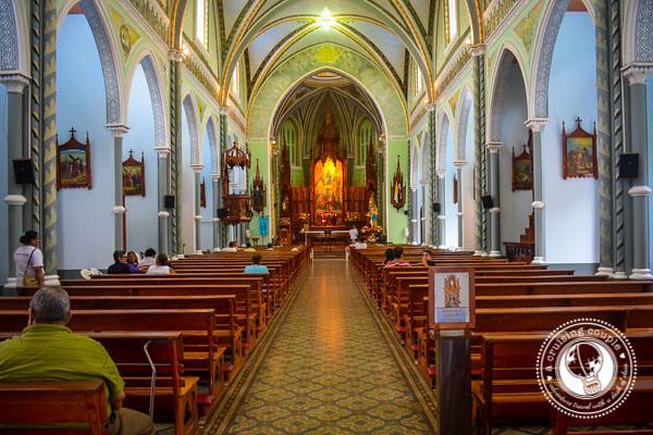 Church in Granada Nicaragua