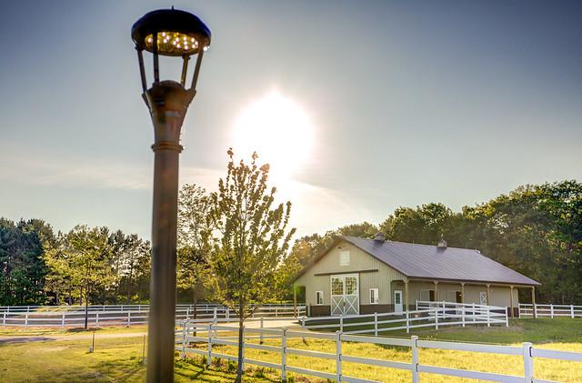 Sun Over Farm