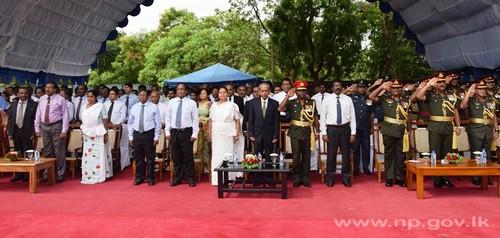 வட மாகாண தேசிய போர் வீரர்களுக்கான ஞாபகார்த்த வைபவம் பலாலியில் நடைபெற்றது