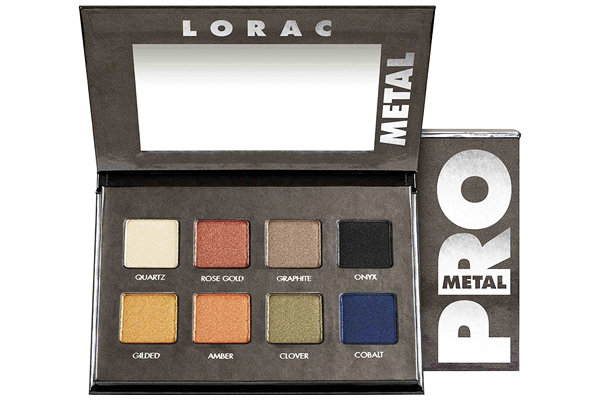 LORAC PRO METAL EYESHADOW PALETTE REVIEW, PHOTOS