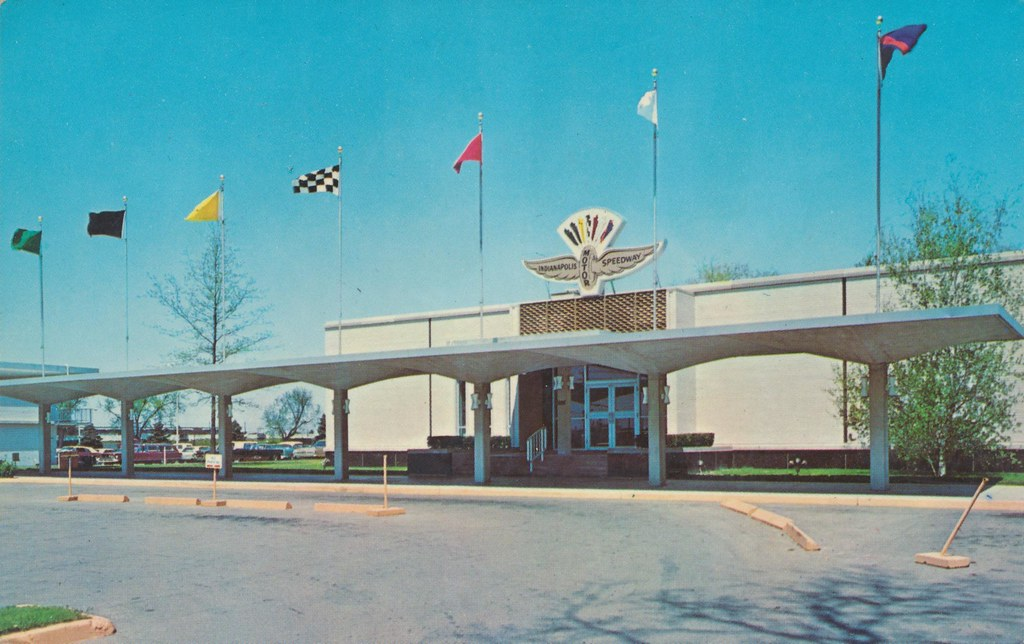 the cardboard america motel archive indianapolis motor