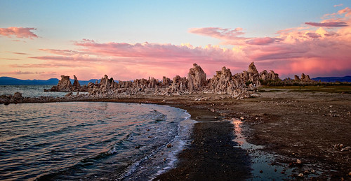 Tufa and Water at Twilight