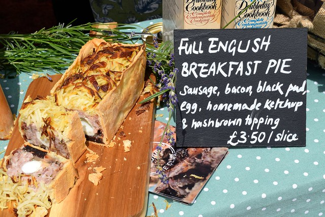Paramour Pie Club's Full English Breakfast Pie at Walmer Food Festival
