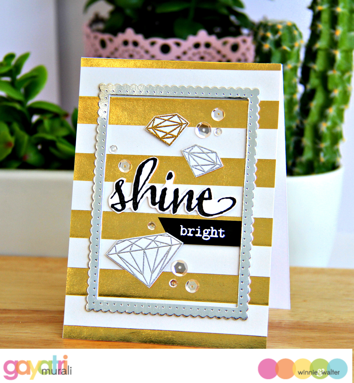 gayatri_Shine bright card