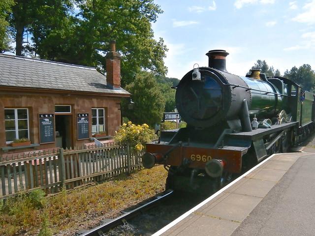 R5 Raveningham Hall, 6960, Stogumber, West Somerset Railway 06-15