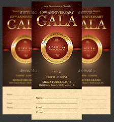 church anniversary gala ticket template church anniversary flickr