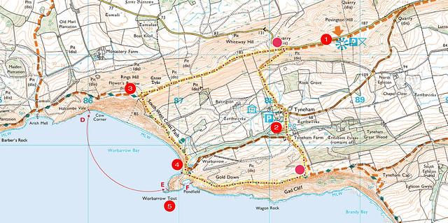 tyneham_map