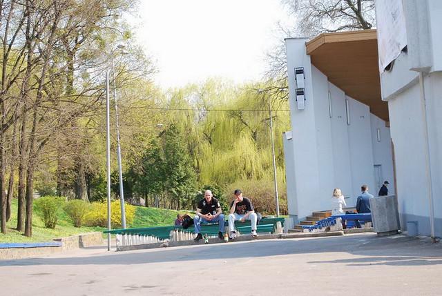 парк зелена естрада
