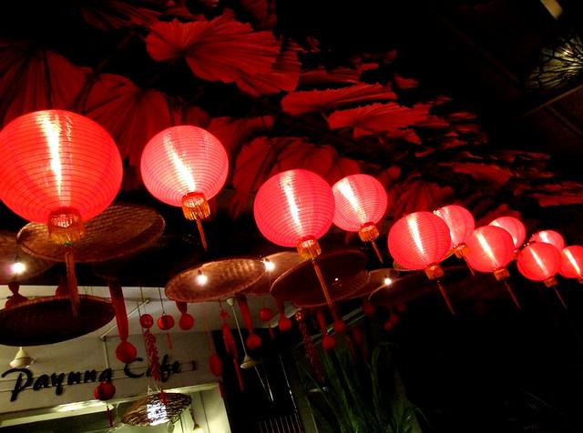 Payung Chinese New Year decor 1
