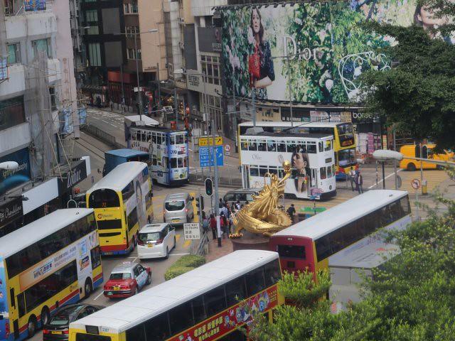 double decker tram 1 Hong Kong obiective turistice
