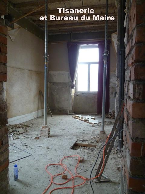 Rénovation Mairie - Démarrage des travaux