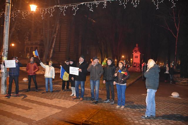 Protest anti-guvern PSD - Tecuci 05 februarie 2017