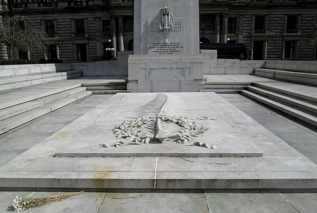 Detail of Glasgow War Memorial