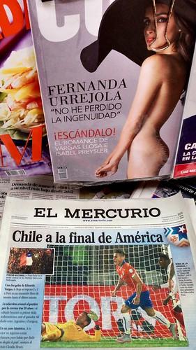Lindas portadas chilenas