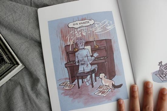 sarjakuvia pienikirjasto
