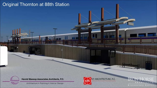 North Metro 88th Station Video Rendering