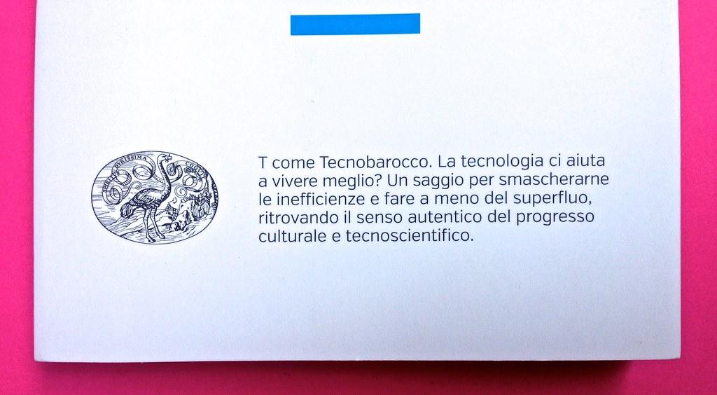 Mario Tozzi, Tecnobarocco. Einaudi 2015. Responsabilità grafica non indicata [Marco Pennisi]. Copertina (part.), 3