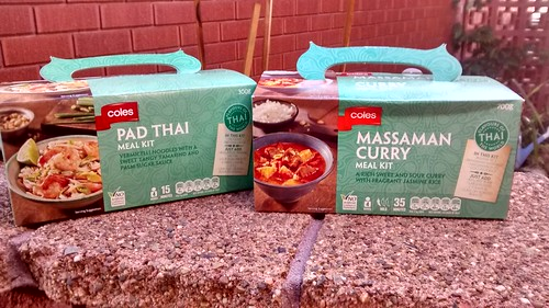 Coles Asian Meal Kits | by phonakins