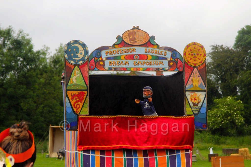 Punch and Judy at the Heart of the Forest Festival