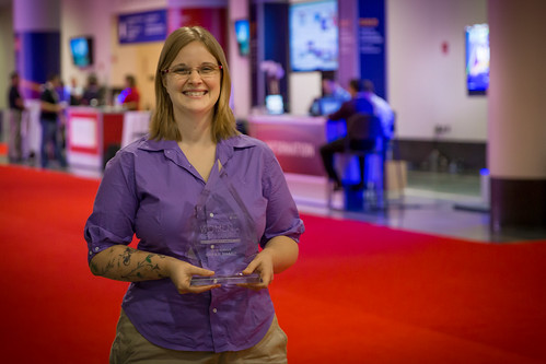 Sarah Sharp wins Women in Open Source Award!