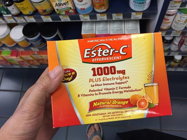 Ester C vitamins