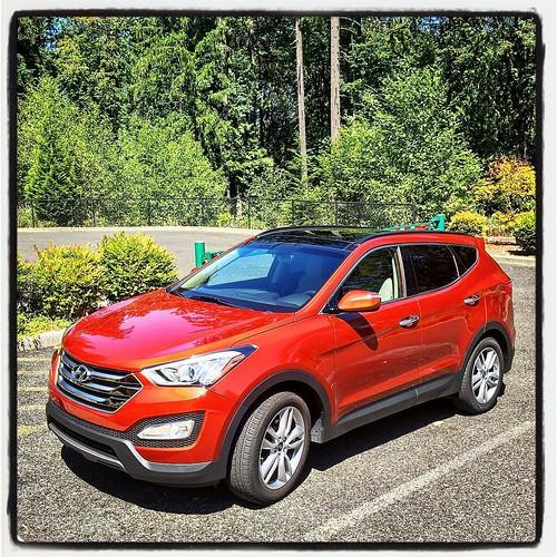 Hyundai Vehicle Service Contract: This Week's Review Vehicle: A 2015 Hyundai Santa Fe Sport