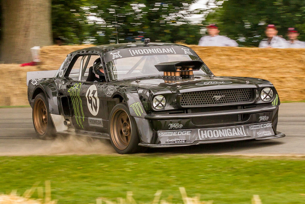 ken block 39 s hoonicorn ford mustang drift car ken block 39 s h flickr. Black Bedroom Furniture Sets. Home Design Ideas