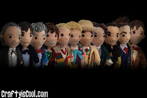 Doctor Who Crochet Amigurumi from CraftyIsCool