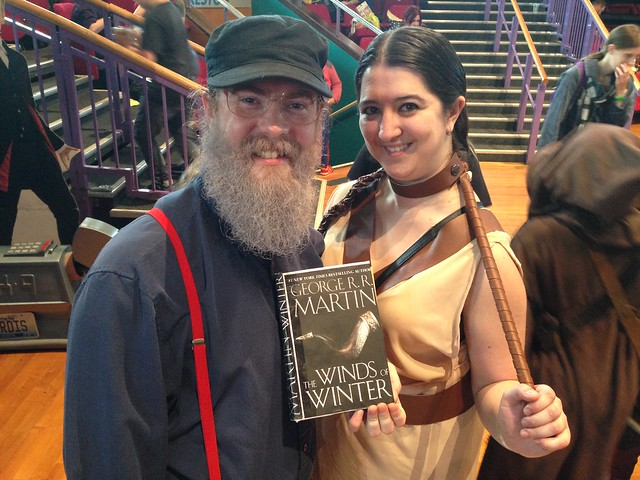 Preston Comic-Con 2015 - George R.R. Martin