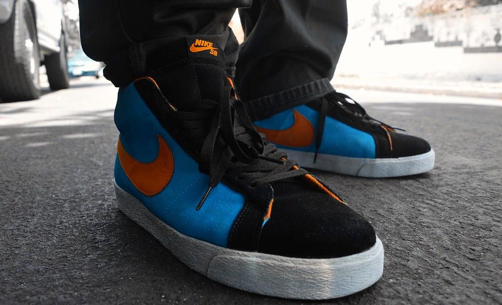 Le Bleu De Chlore De Nike Blazer