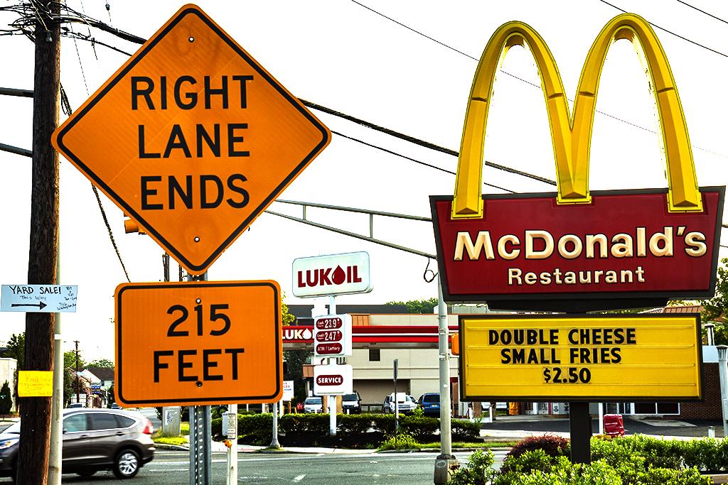 McDonald's and LUKOIL--Woodbury