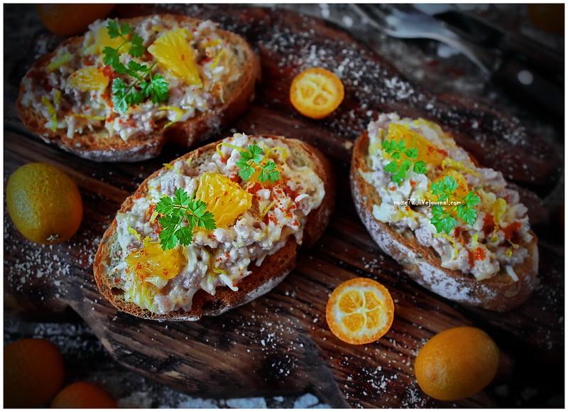 ...delicious sandwich orange cod liver oil